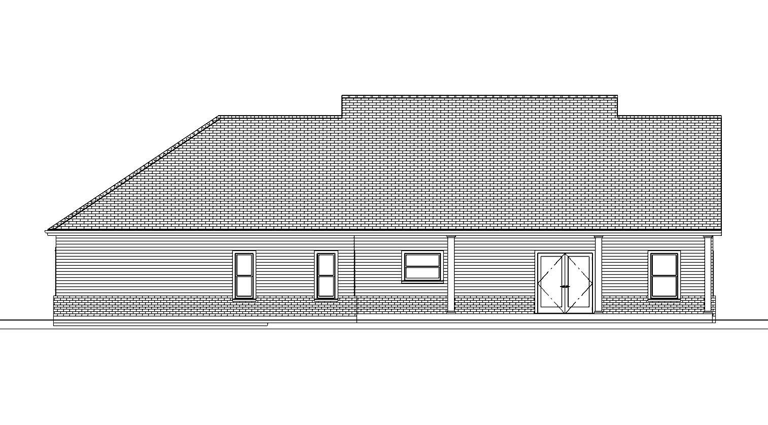 Plan No. 1010_BK ELEVATION