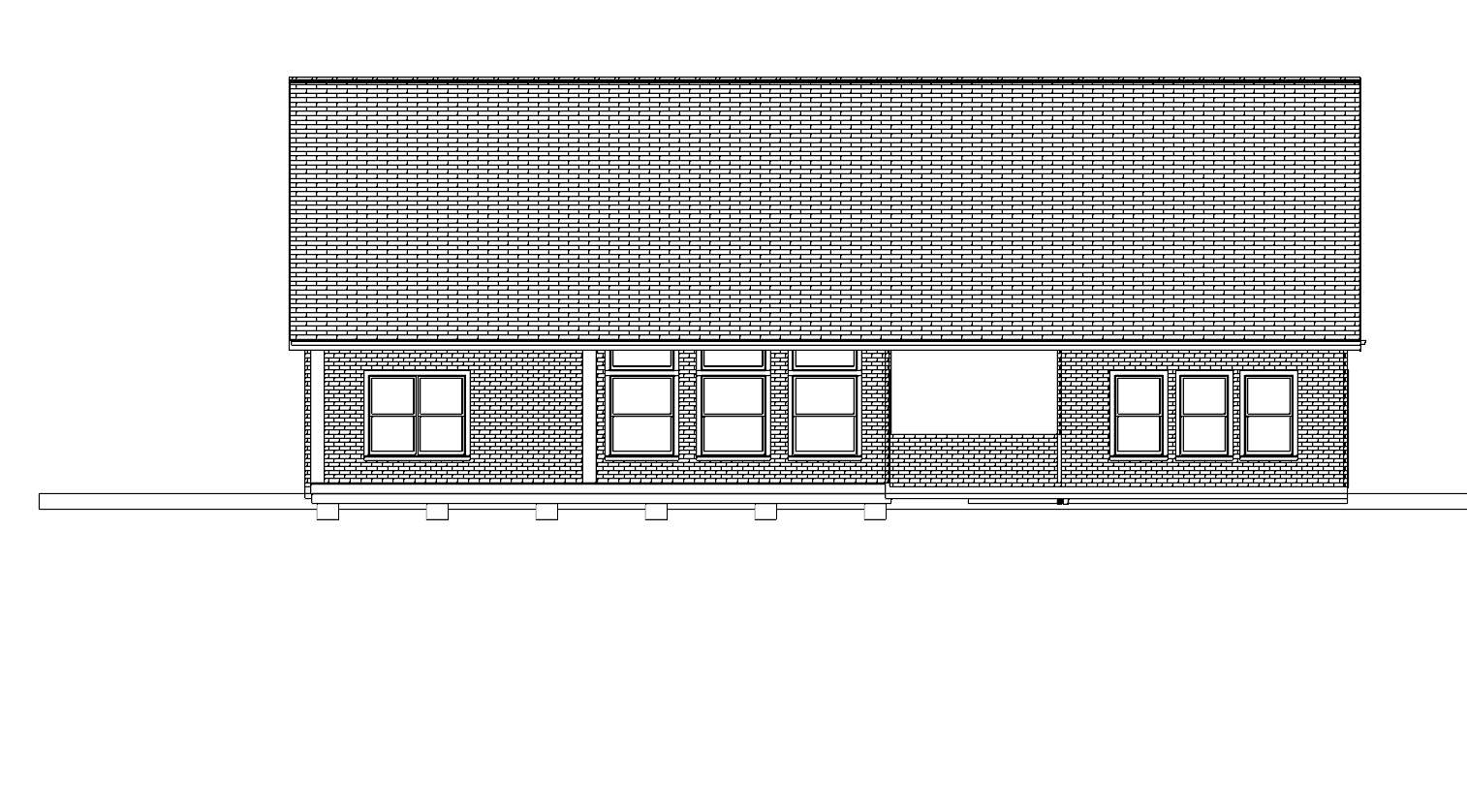 Plan No. 1020_BK ELEVATION